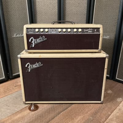 Fender Tremolux Head and Cabinet 1966 Oxblood
