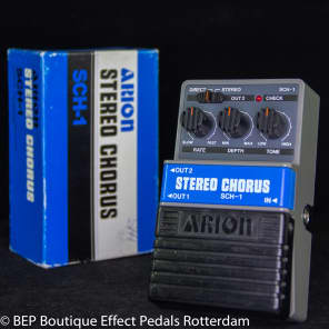 Arion SCH-1 Stereo Chorus s/n 560809 Grey Box mid 80's Japan as used by Michael Landau for sale