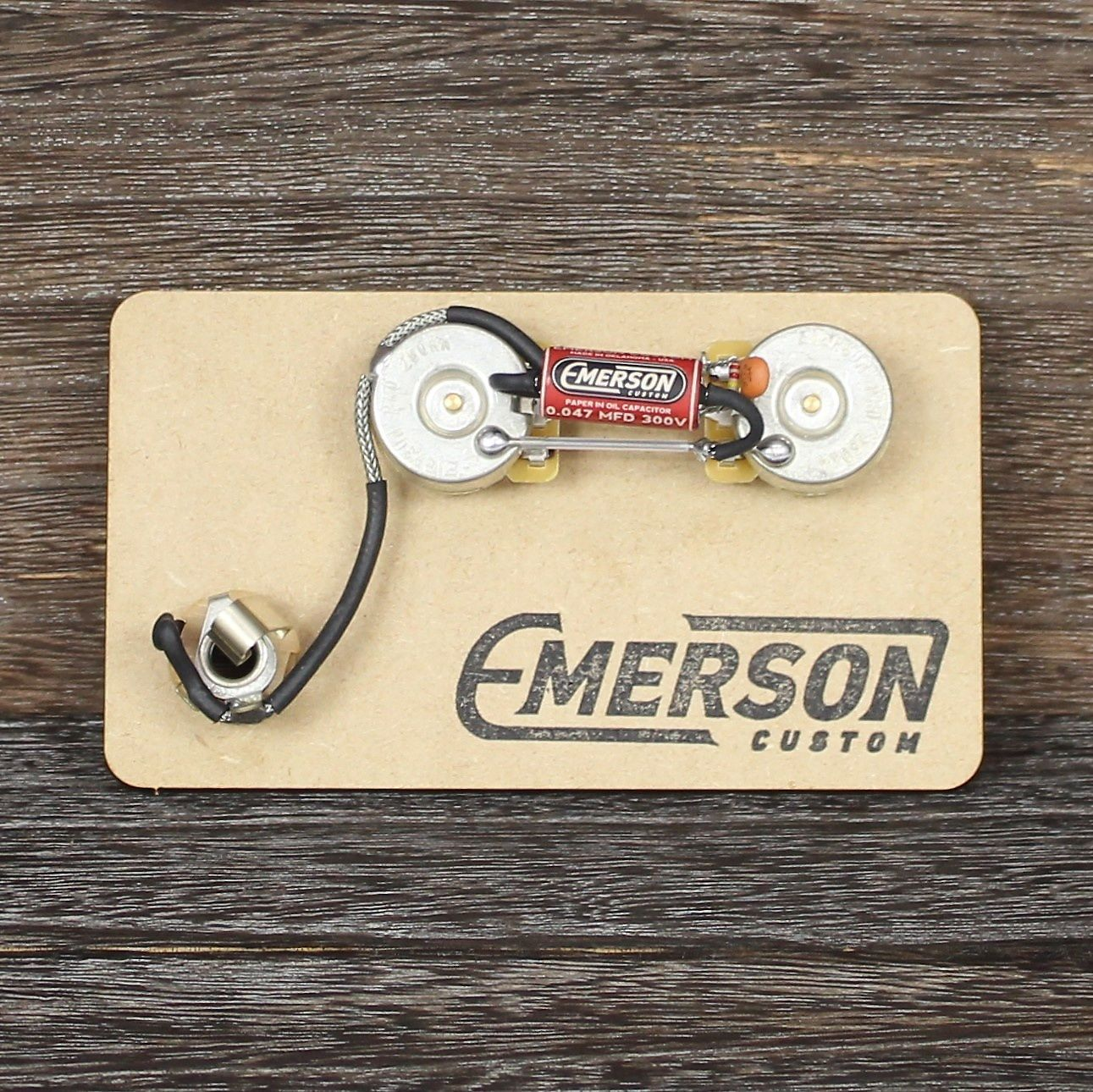 Emerson Custom Prewired P Bass Kit Short Shaft Reverb Wiring Harness