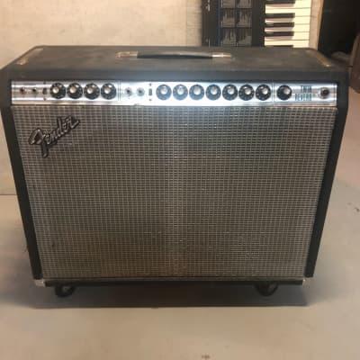 """1970s Fender Twin ReSilverface W/ Weber """"California"""" Speakers"""