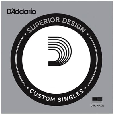 D'Addario Pro Steel 030 Wound Single Electric Bass String Long