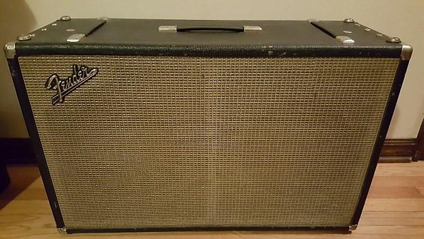 Fender 2x12 cabinet - Vintage 1960's | Reverb