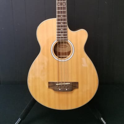 Washburn AB5K Acoustic Bass Natural for sale