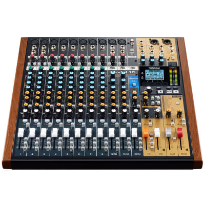 Tascam Model 16 All-In-One Mixing Studio