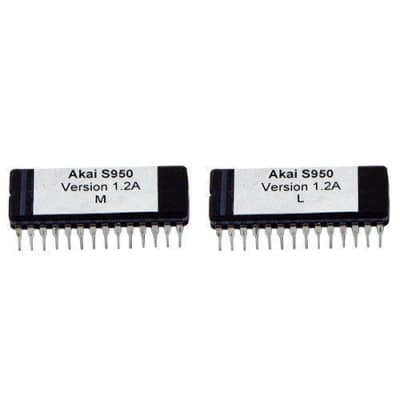 Akai S950 Operating System 1.2A Eprom Upgrade Latest OS Sampler Vintage