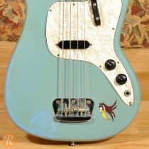 Fender Musicmaster Bass 1972 Daphne Blue image