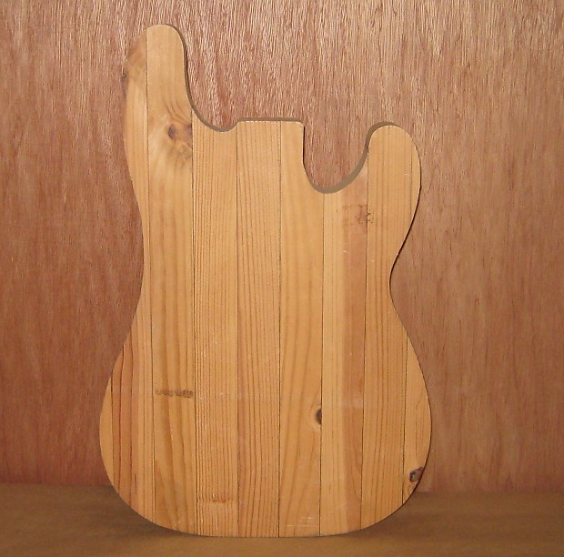 Handmade P Bass Body 10 Yrs Unfinished As Is Reverb