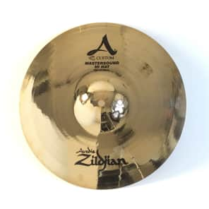 "Zildjian 13"" A Custom Mastersound Hi-Hat Cymbals (Pair)"