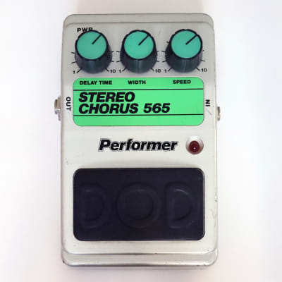 DOD Performer Stereo Chorus 565 1981 with *Rare* DOD 1/4