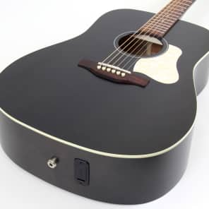 Art & Lutherie Americana Dreadnought Acoustic Electric Guitar | Faded Black for sale