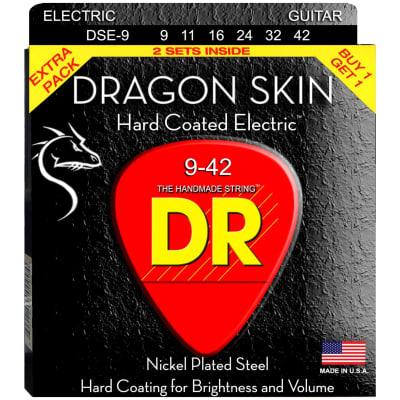 DR Strings DSE-9 9-42 K3 Dragon Electric Strings 2-Pack