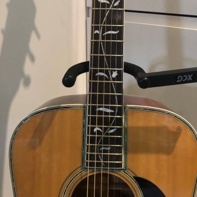 Morris W-619 Tree of Life 1975 Martin D45/ D60 Taylor Style Acoustic Ultra Rare + Case Japan 1975 for sale