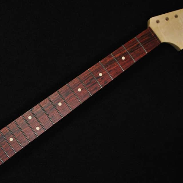 Musikraft CBS Style Stratocaster Flame Maple Wood Rosewood Fingerboard Neck image
