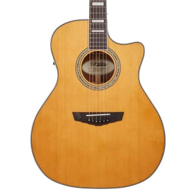 D'Angelico Premier Gramercy Grand Auditorium Electro Acoustic in Vintage Natural for sale