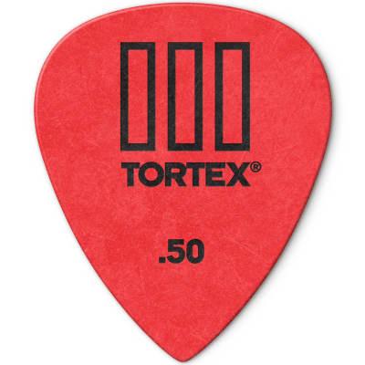 Dunlop 462R50 Tortex III .50mm Guitar Picks (72-Pack)