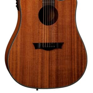 Dean Guitars AX DCE MAH AXS Dreadnought Cutaway Acoustic-Electric Guitar, Mahogany for sale