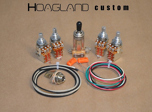 Hoagland Custom Jimmy Page Style Wiring Harness Kit - short shafts, on diy wire key, diy wire lock, diy wire ring, diy wire cart, diy wire box, diy usb cable, diy wire ball, diy wire furniture, diy capacitor, diy manual, diy wire cage, diy control panel, diy exhaust, diy hood, diy wire connectors, diy wire mask, diy cover, diy wire ghost, diy wire holder, diy wire anchor,