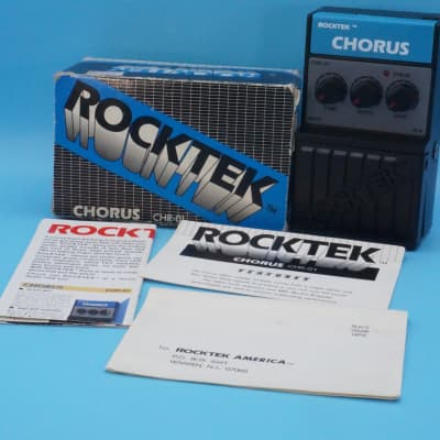 Rocktek CHR-01 Analog Chorus w/ Original Box | Rare 1980s Analog | Fast Shipping!