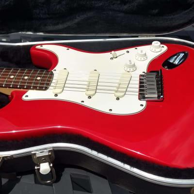 1993 Fender Strat Plus - Lace Sensonrs - Lipstick Red / Rosewood for sale