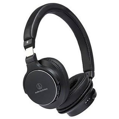 Audio-Technica ATH-SR5BTBK Bluetooth On Ear Headphones Hi-Res With Controls
