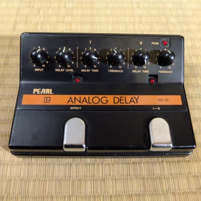 c. 1970s Pearl AD-33 Analog Delay - vintage dual analog delay goodness! for sale