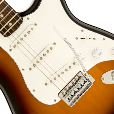 Fender Squier Affinity Series  Stratocaster Laurel Fingerboard, Brown Sunburst