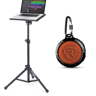 Novation BASS STATION II 25-Key MIDI USB Analog Keyboard+Laptop Stand+Speaker