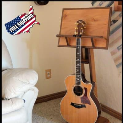 Guitar Stand (Walnut trim)