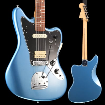 Fender Player Jaguar, Pau Ferro Fingerboard, Tidepool S/N MX19012948 8 lbs, 6.2 oz