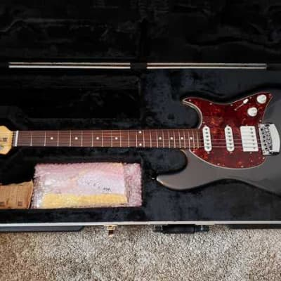 Ernie Ball Music Man Cutlass HSS with Rosewood Fretboard and Tremolo Grey for sale