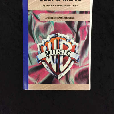 Warner Bros. Bust a Move-Marching Band Grade 2.5 Arrangement 2003