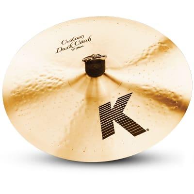 "Zildjian 15"" K Custom Dark Crash Cymbal"