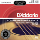 D'Addario EXP17 Coated Phosphor Acoustic Guitar, Medium, 13-56