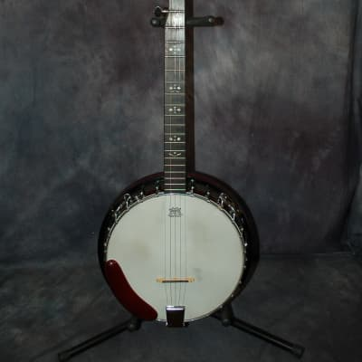 1989 Franciscan 5 String Banjo New Strings Pro Setup Original Soft Shell Deluxe Case for sale