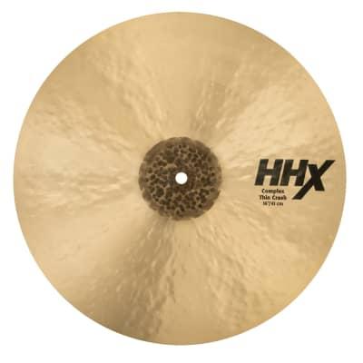 """Sabian 16"""" HHX Complex Thin Crash Cymbal"""