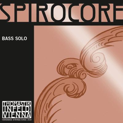 Thomastik-Infeld 3886.0 Spirocore Chrome Wound Spiral Core 3/4 Double Bass Solo String Set - Medium