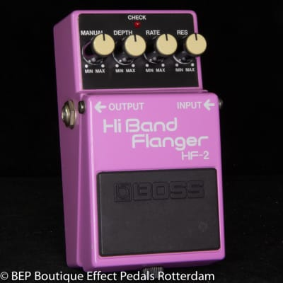 Boss HF-2 Hi Band Flanger 1985 s/n 611400 Japan