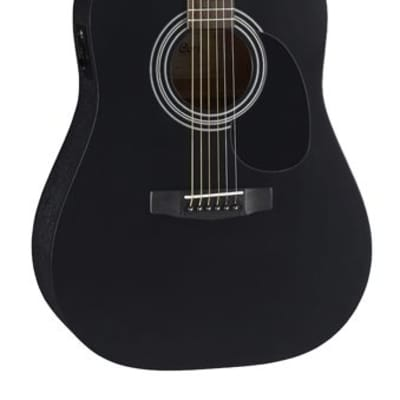 Cort Standard Series AD810E Acoustic/Electric Guitar, Black Satin, Free Shipping