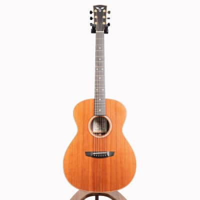 Goodall Grand Concert Acoustic Guitar, East Indian Rosewood & Master Redwood for sale