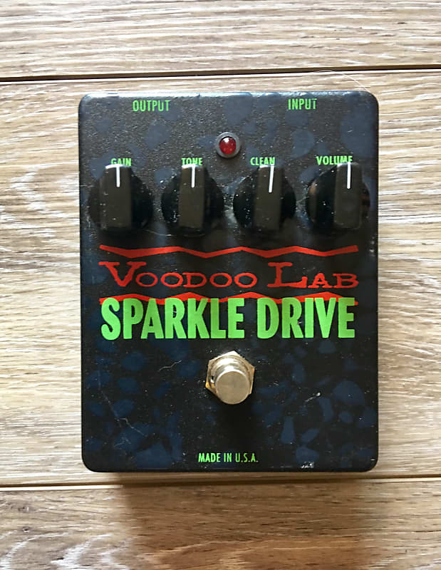 Voodoo Lab Sparkle Drive Overdrive Pedal   Reverb