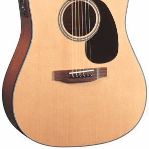 Blueridge BR-40ce Contemporary Dreadnought AC/EL Guitar w/ Cutaway - Natural for sale