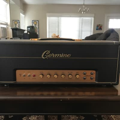 GERMINO  Classic 45 w/ Master Volume 2018 Black for sale