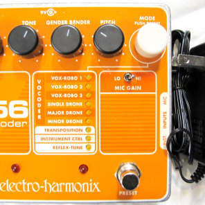 Used Electro-Harmonix EHX V256 Vocoder Vocal Microphone Mic Guitar Effect Pedal!