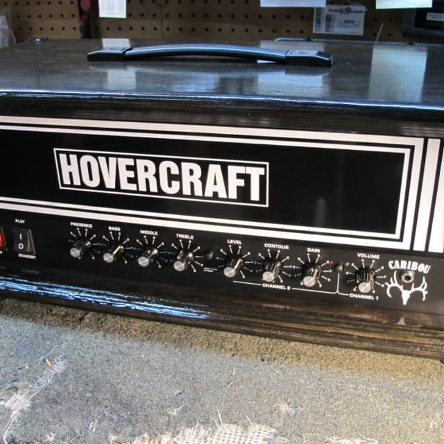Hovercraft Caribou 50w Stage 0 Spec espresso stained 'The Teacher' amp 3/3 - vintage gain image