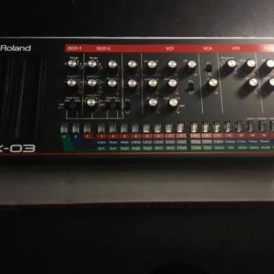 Roland JX-03 JX-3P Boutique Synth Sound Module
