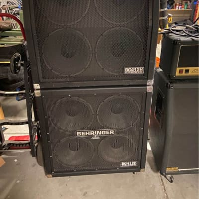 Behringer Ultrastack BG412F and BG412H - Full stack cabinets for sale