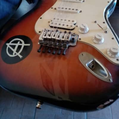 Fender  stratocaster floyd rose series U.S.A. '98 Custom 1998 sunburst for sale
