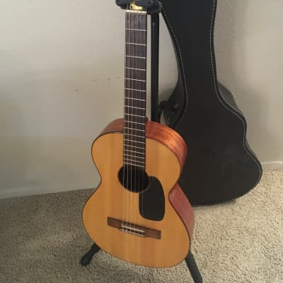 Gagliano  680 classical guitar  1950s Natural spruce with rosewood fretboard and mahogany back for sale