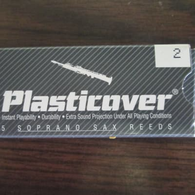 Rico Plasticover Soprano Saxophone Reeds - Strength 2.0 (SOLD PER REED) New Old Stock