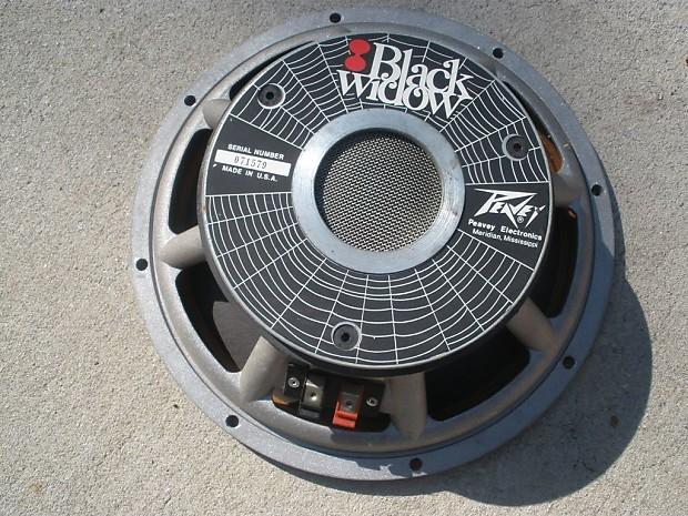 """Peavey Black Widow 12/"""" speakers"""